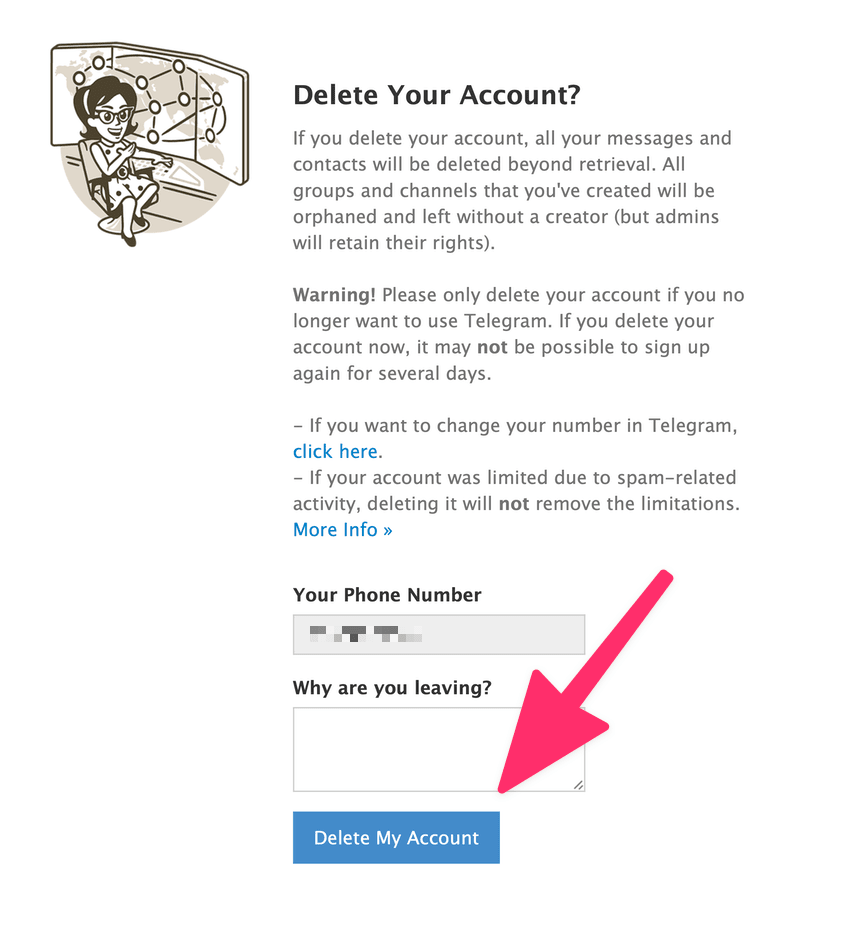 How To Deactivate or Delete Telegram Account Fast Oct 20